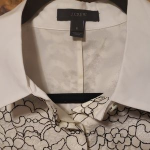 J. Crew Tops - Offer $30🌻J.Crew Edged Lace Blouse
